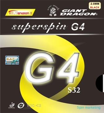GIANT DRAGON - Potah Superspin G4 S32
