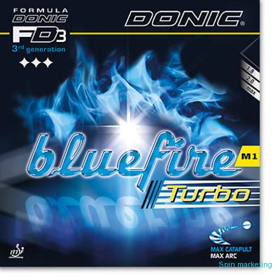 DONIC - potah Bluefire M1 Turbo