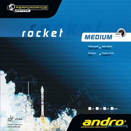 ANDRO - potahy Racket medium