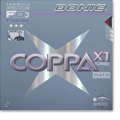 Donic - Coppa X1 Turbo (Platin)